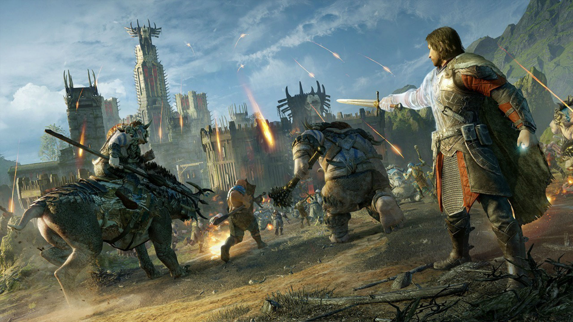 Middle Earth Shadow Of War S Open World Is A Bit Middling