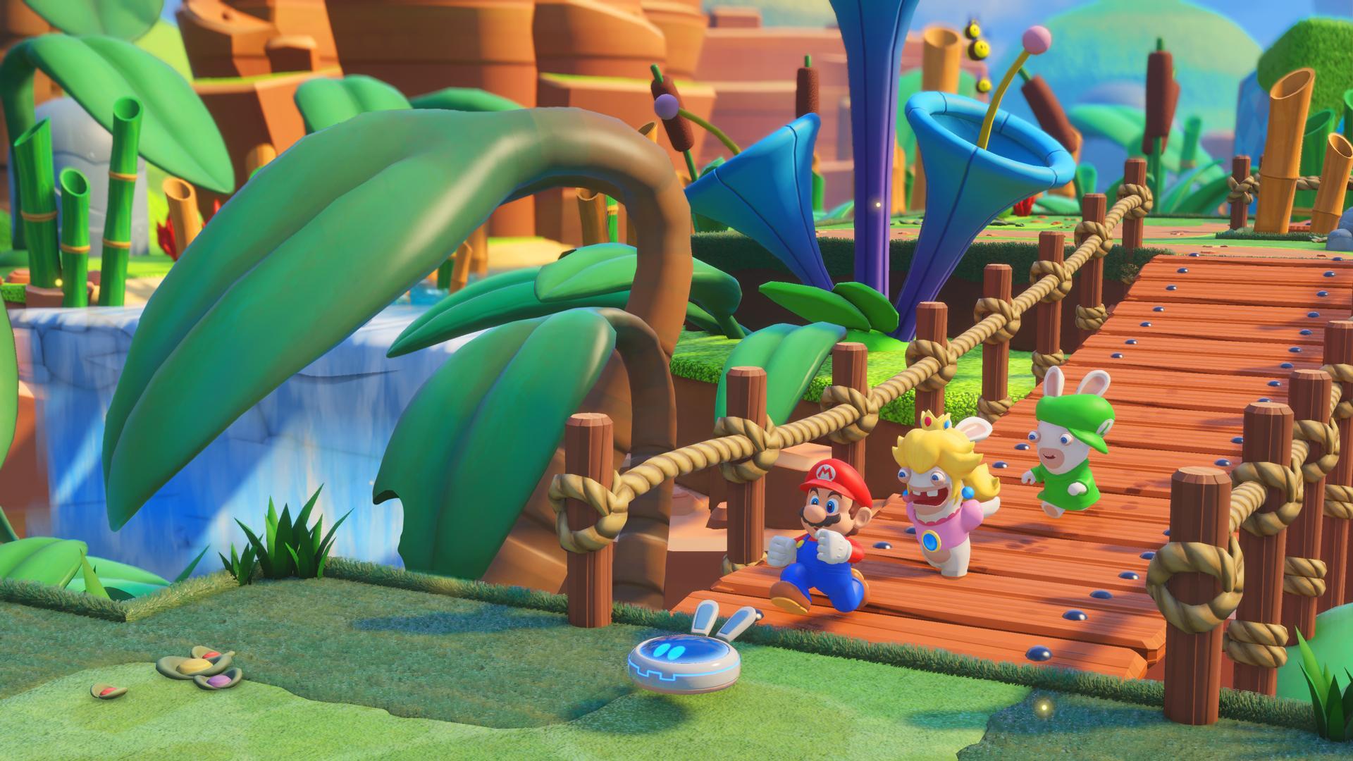 Mario + Rabbids Kingdom Battle is straightforward, but I don't even mind screenshot