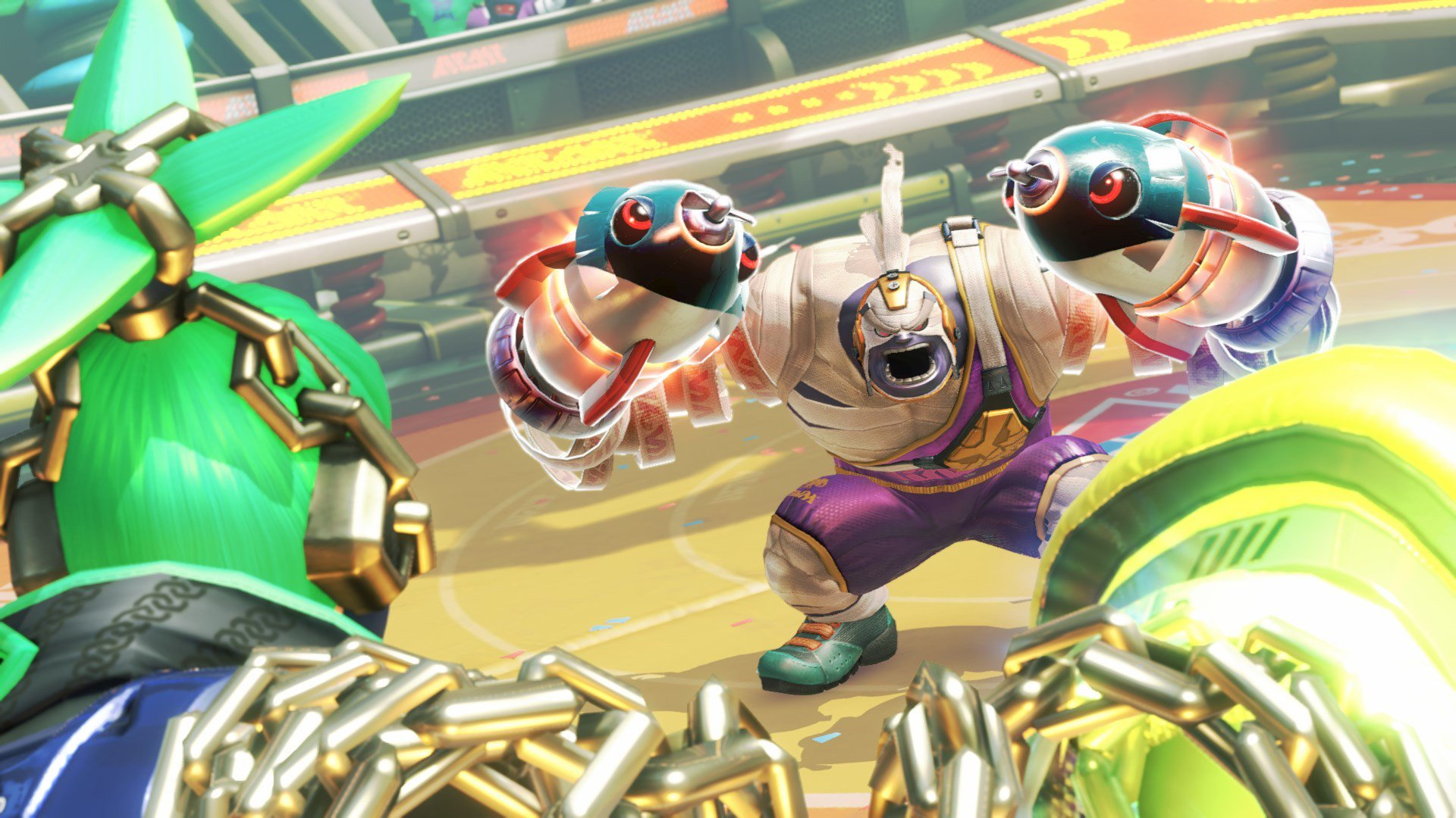 Nintendo Download: Arms screenshot