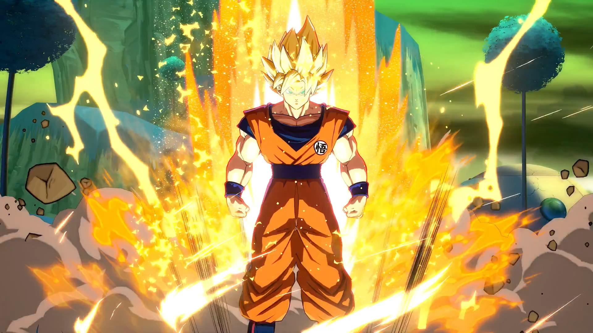 Dragon Ball FighterZ feels like playing the show screenshot
