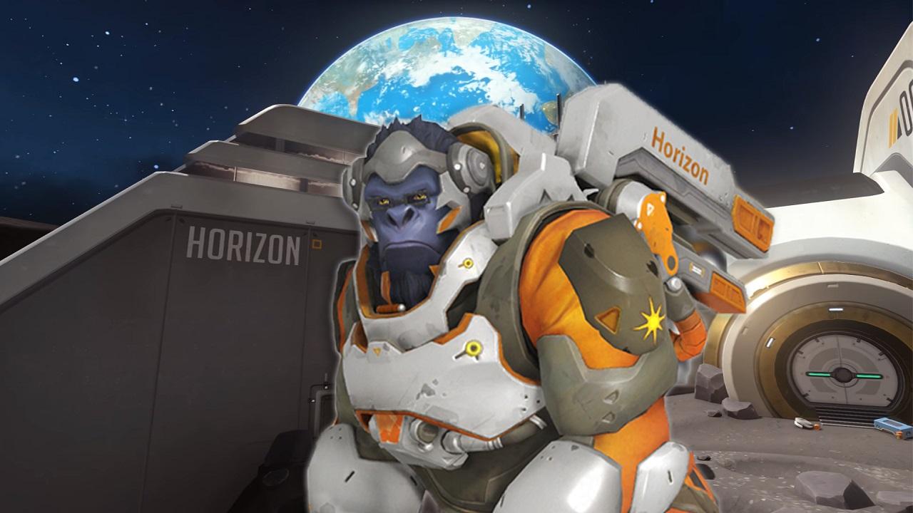 Overwatch's moon monkey finally has his own map screenshot