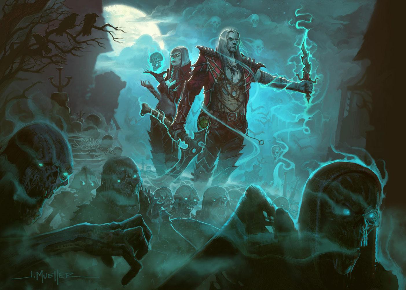 Diablo III will finally get the Necromancer next week screenshot