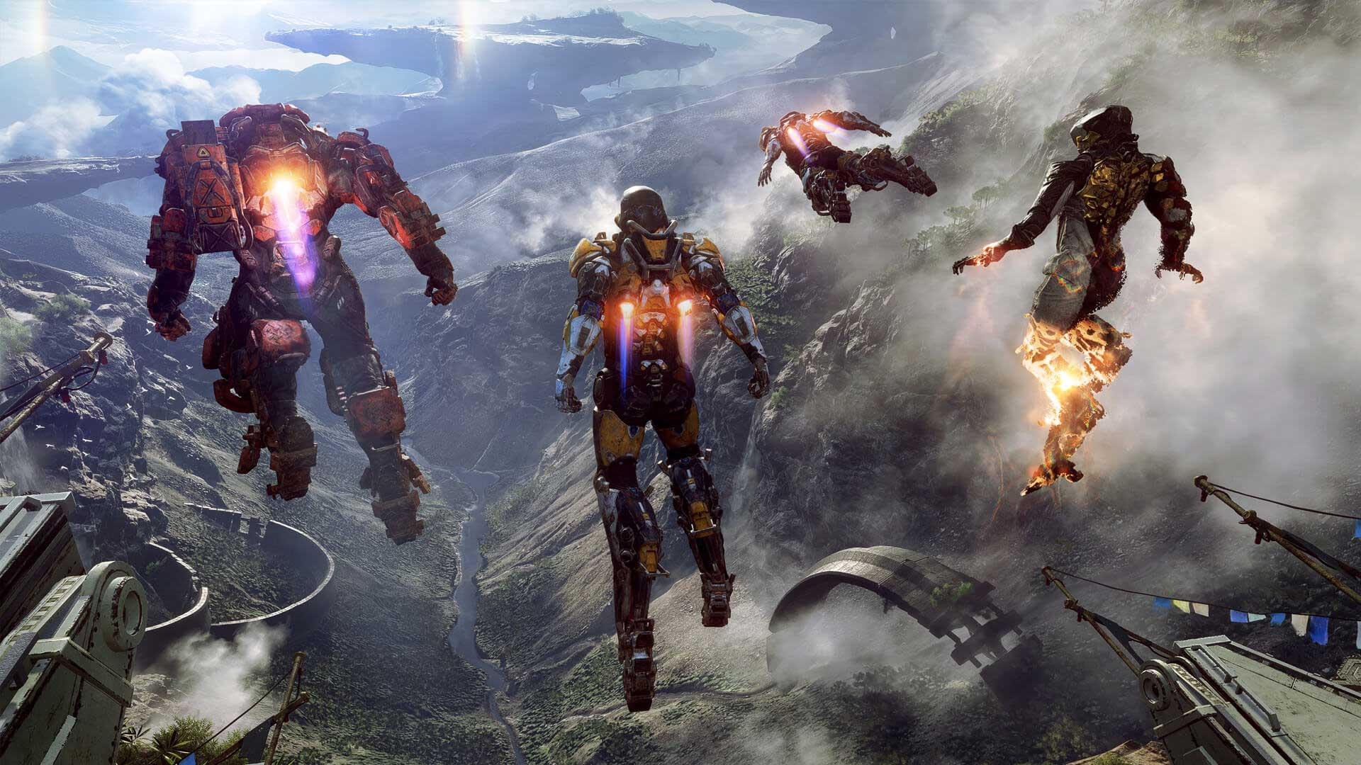 Anthem, that new BioWare IP debuted at E3, could be a '10 year journey' screenshot
