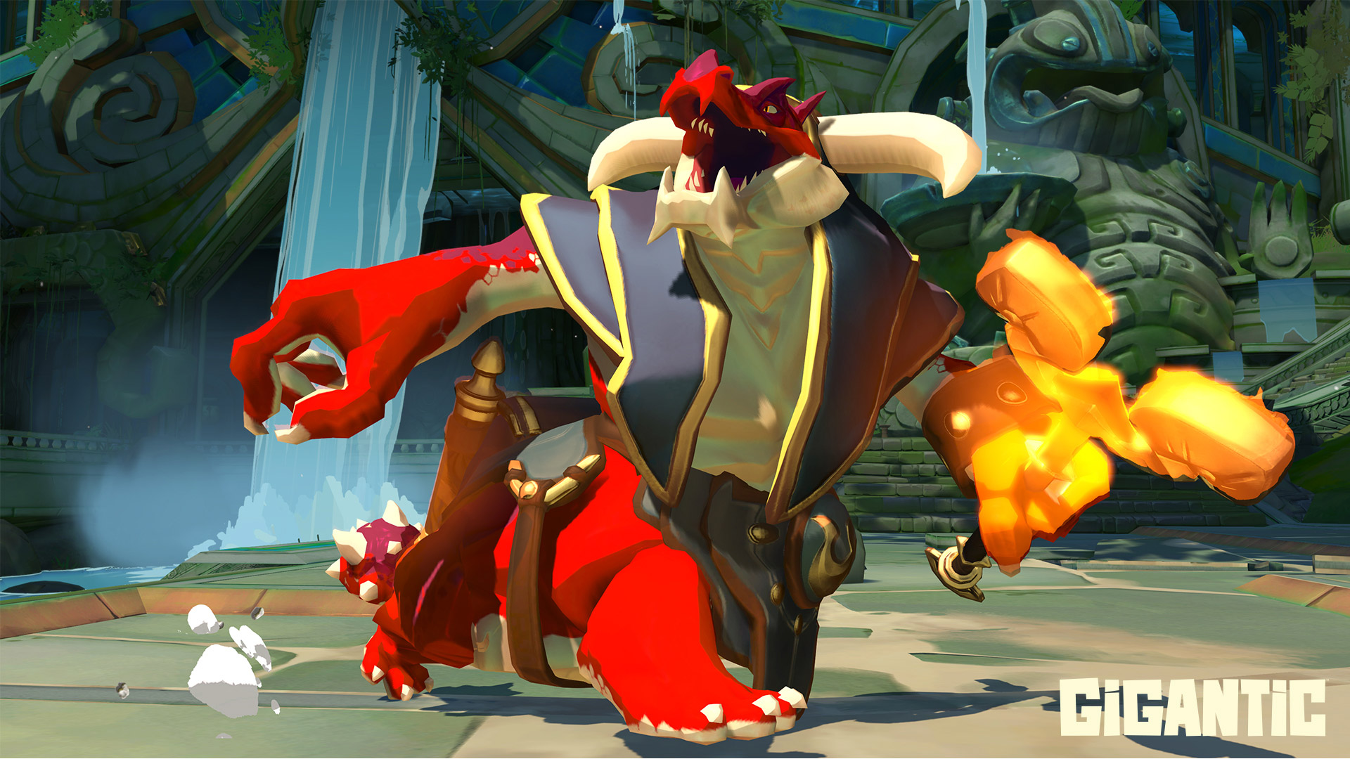 Gigantic is officially set for a July 20 release screenshot
