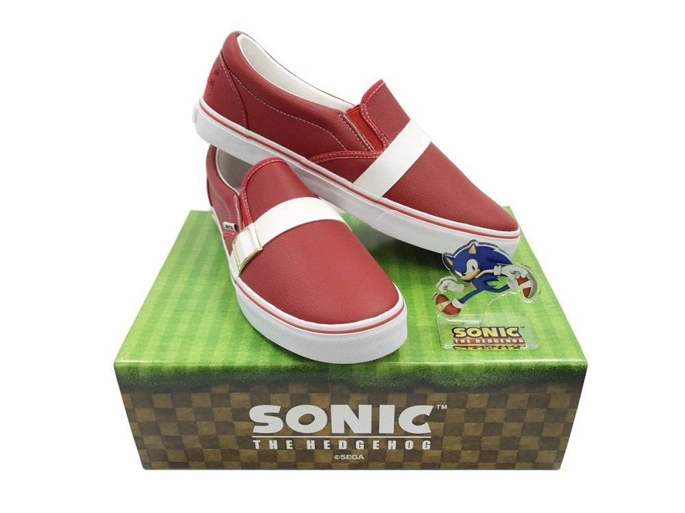 Go fast with Sonic shoes screenshot