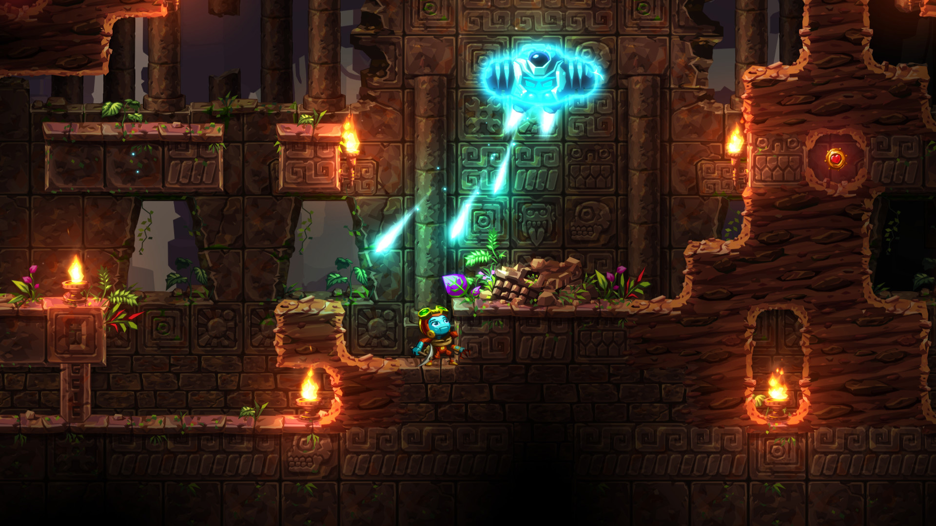 SteamWorld Dig 2 is coming to PC and PS4 right after Switch screenshot