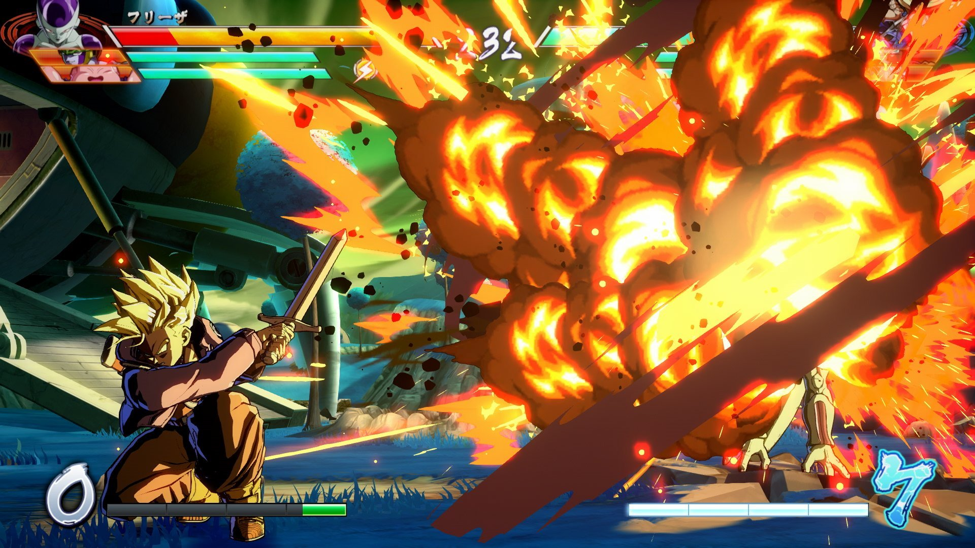 Dragon Ball FighterZ is getting a beta, check out Trunks in the meantime screenshot