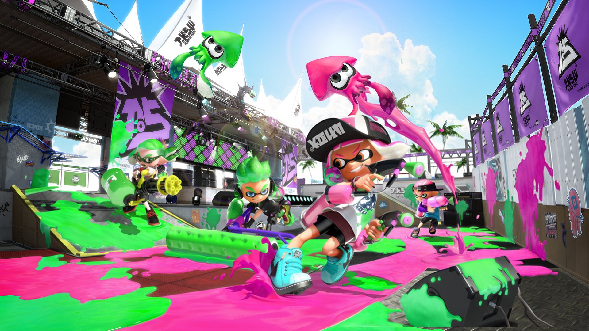 Splatoon 2 Is Getting A New Ranked Mode Centered Around Teams