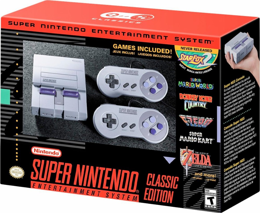 Here Are A Few Places You Can Pre-order The SNES Mini