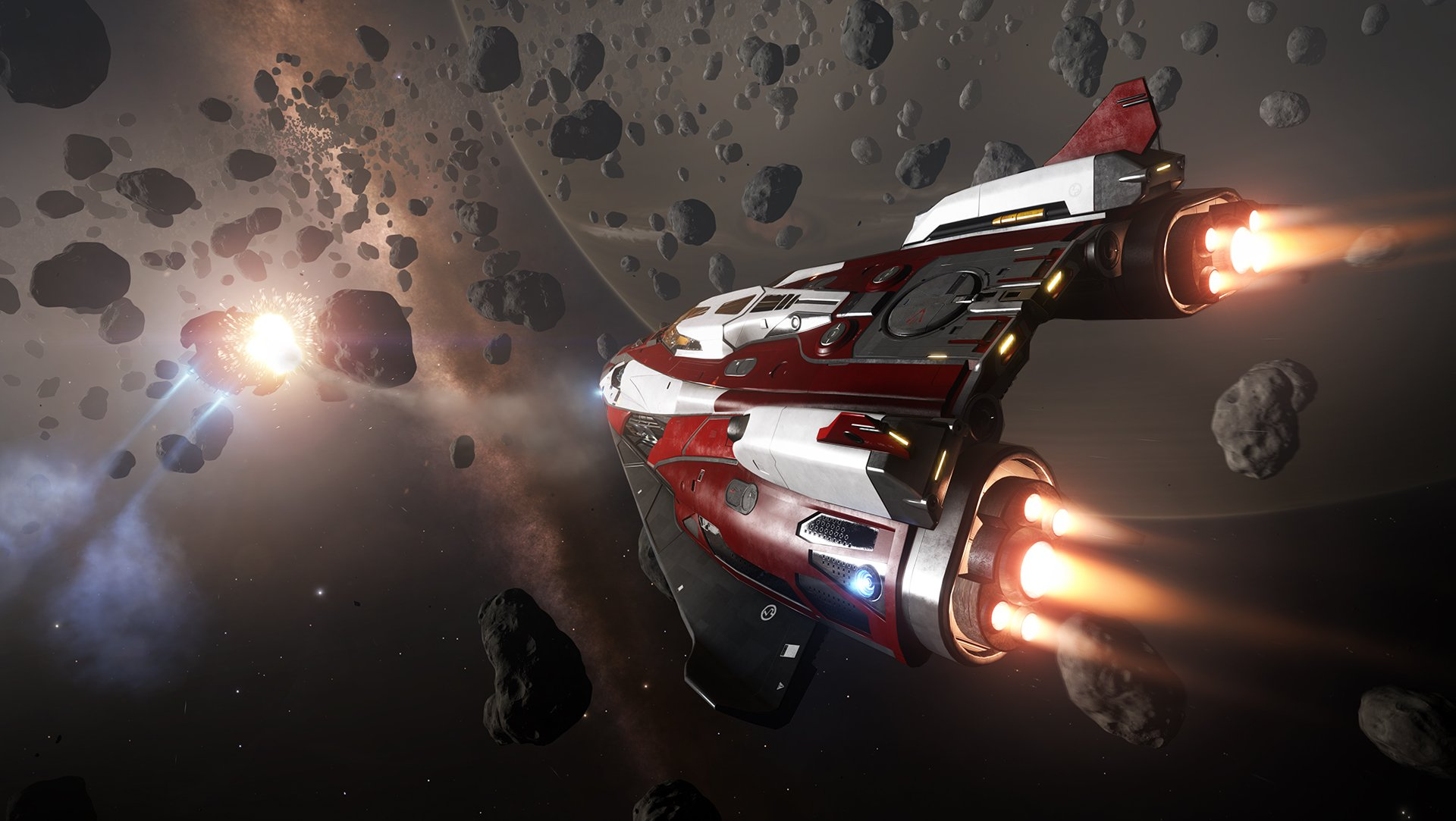 Elite Dangerous Is Available Now On PS4, And Elite Was A Bloody Masterpiece