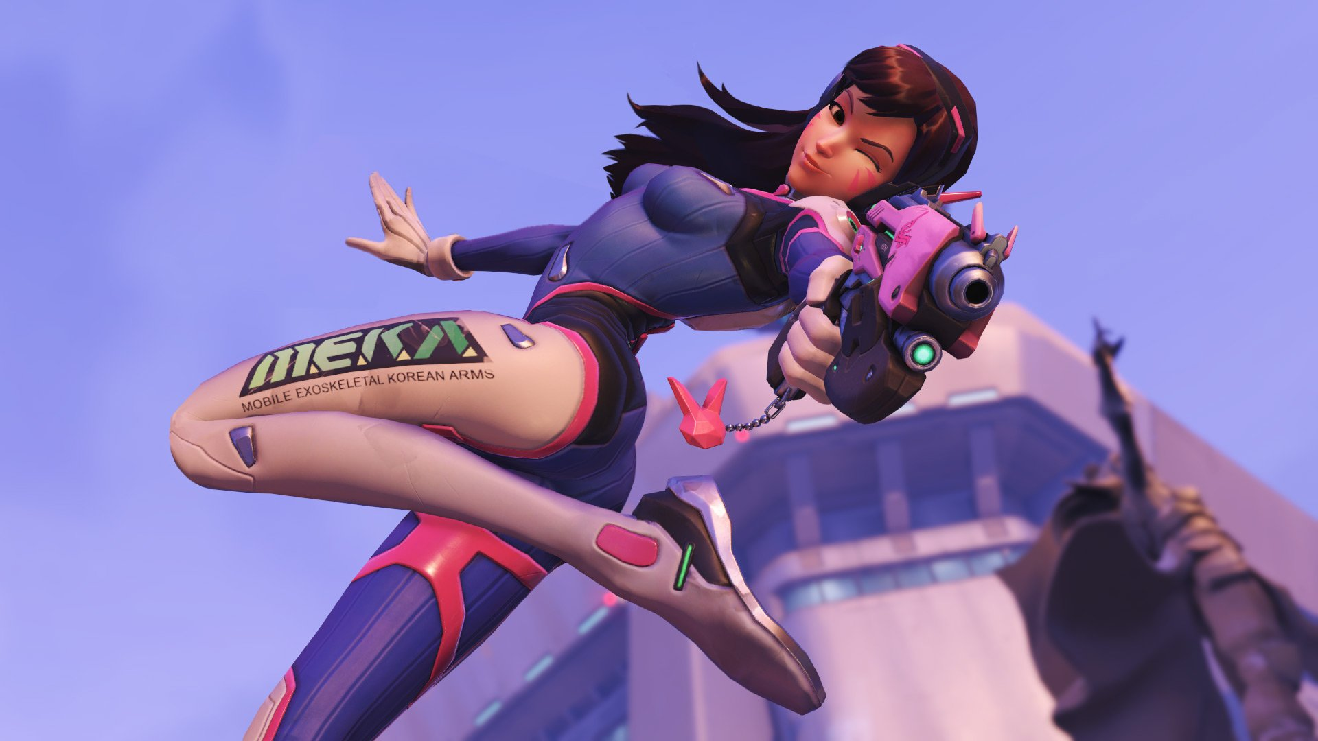 D.Va is suiting up to be the next Overwatch statue from Blizzard screenshot