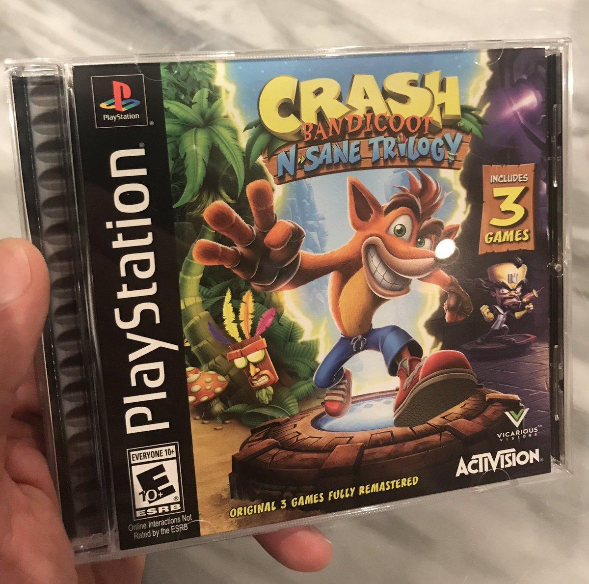PlayStation employees got a way cooler case for Crash Bandicoot N. Sane Trilogy screenshot
