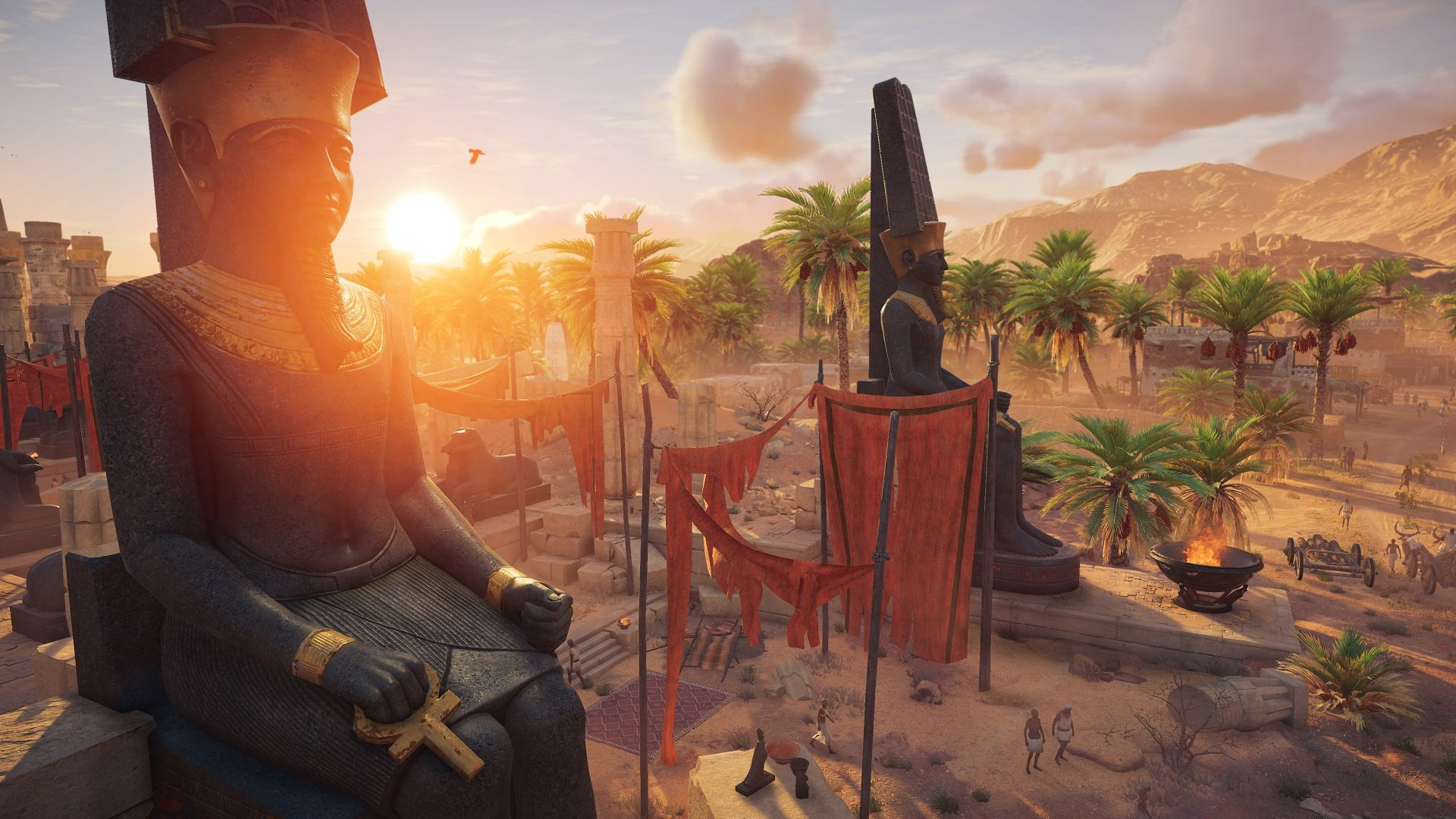 Map size doesn't seem like a focus for Assassin's Creed: Origins screenshot