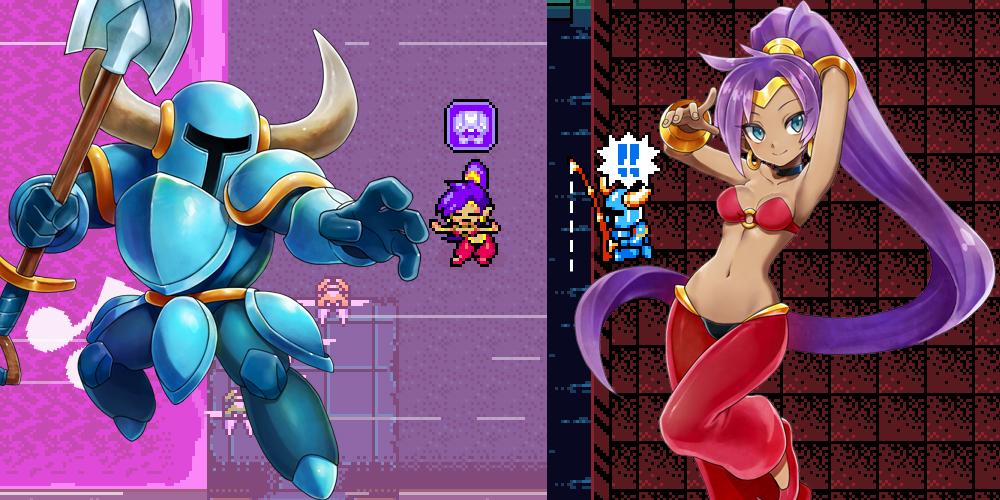Shovel Knight and Shantae set to strike in Blaster Master Zero screenshot