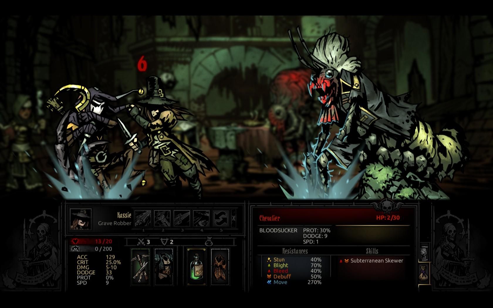 Darkest Dungeon's Crimson Court gets update, PSN release date screenshot