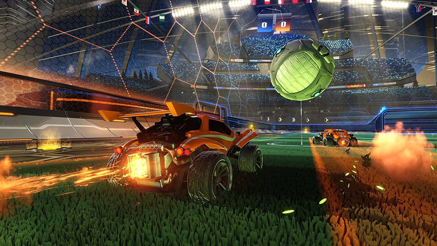 Rocket League 2nd Anniversary 'birthday' update available today screenshot