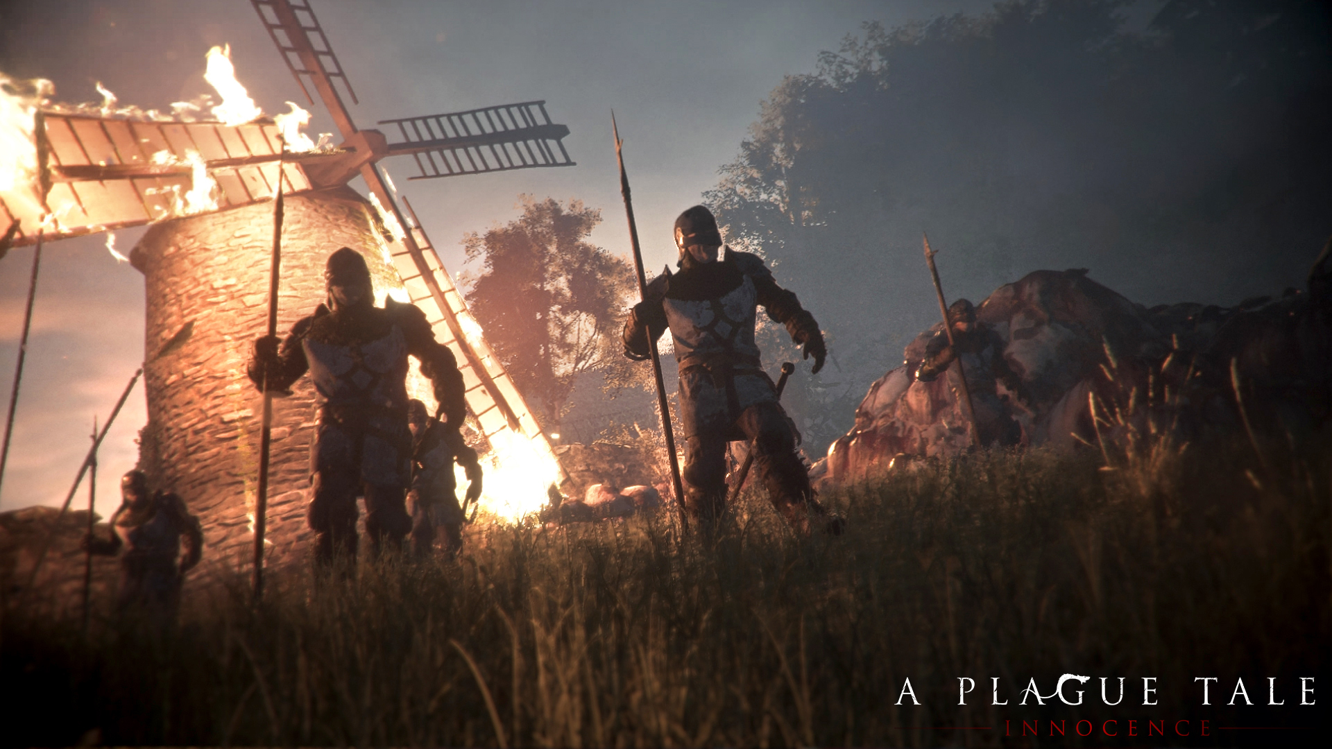 The Switch isn't powerful enough to render all of A Plague Tale's rats screenshot