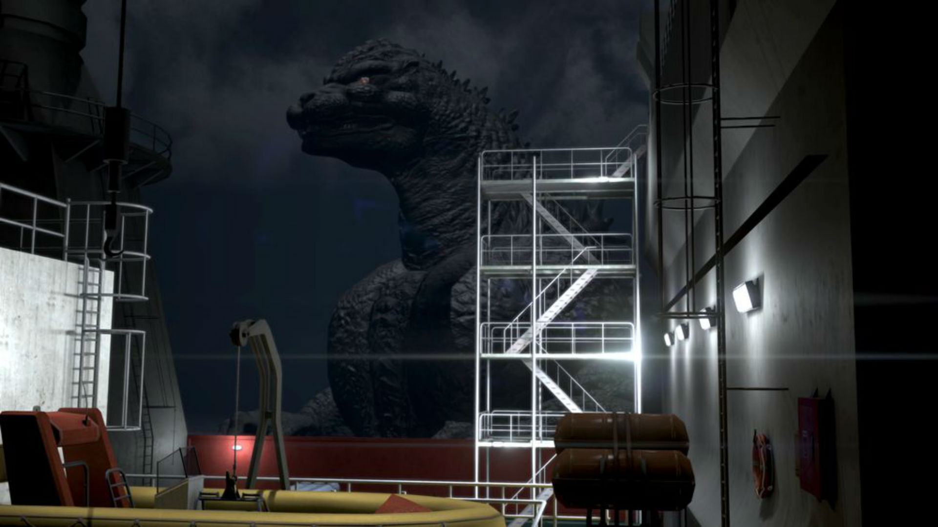 City Shrouded in Shadow is about surviving Godzilla attacks and I need it now screenshot