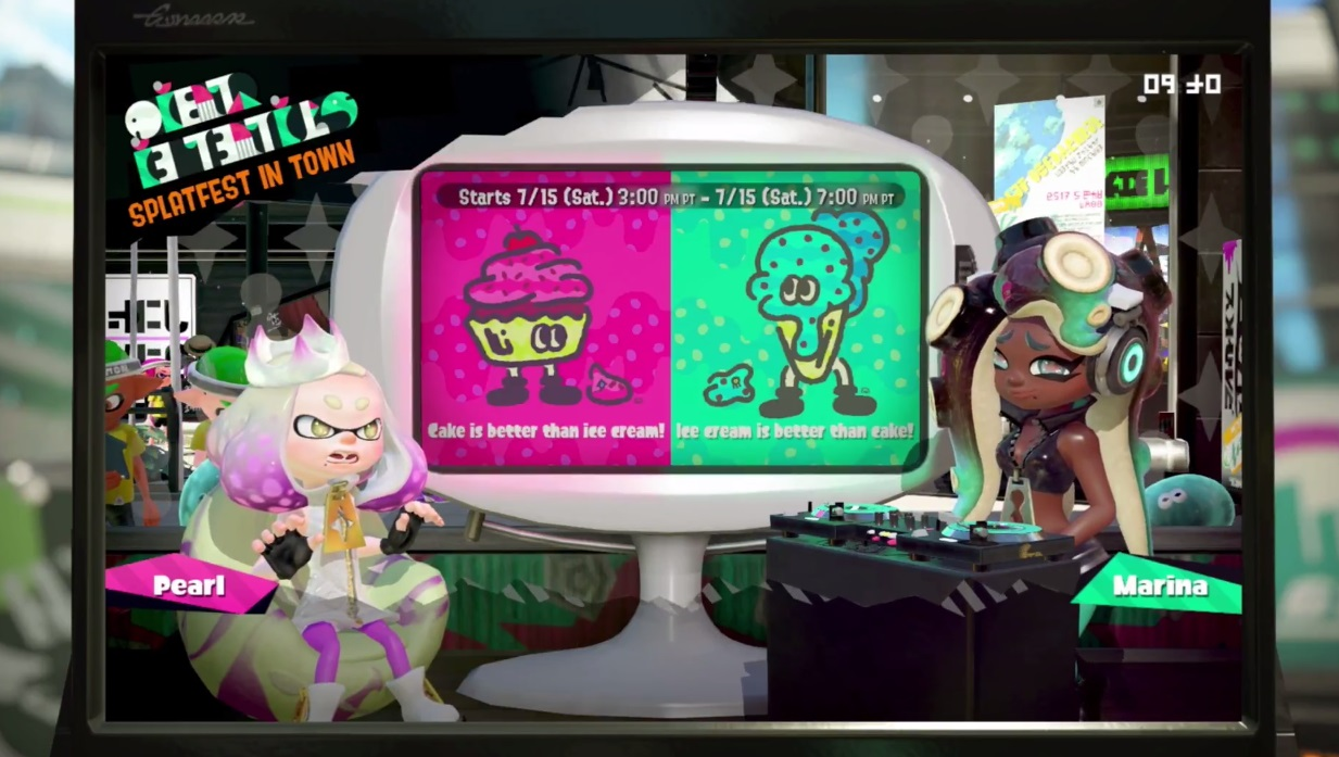 The first Splatfest for Splatoon 2 will arrive a week before the game is even out screenshot