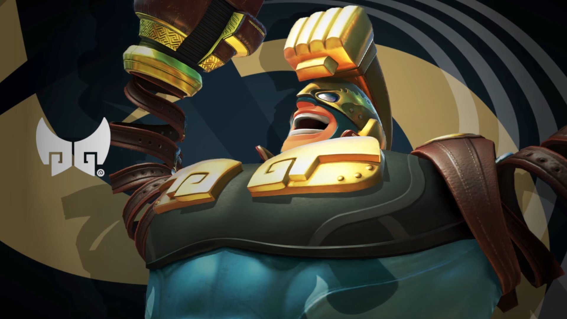 Max Brass brings the pain to ARMS on July 12 screenshot