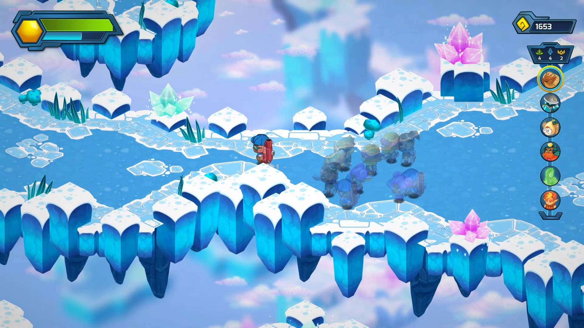 Next Up Hero is fun, but might be hamstrung by its online requirement screenshot