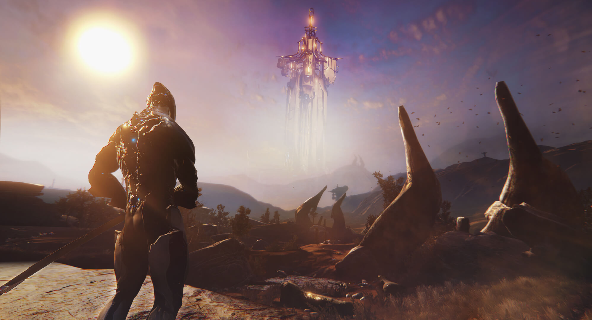 Warframe is going open world with its next expansion screenshot
