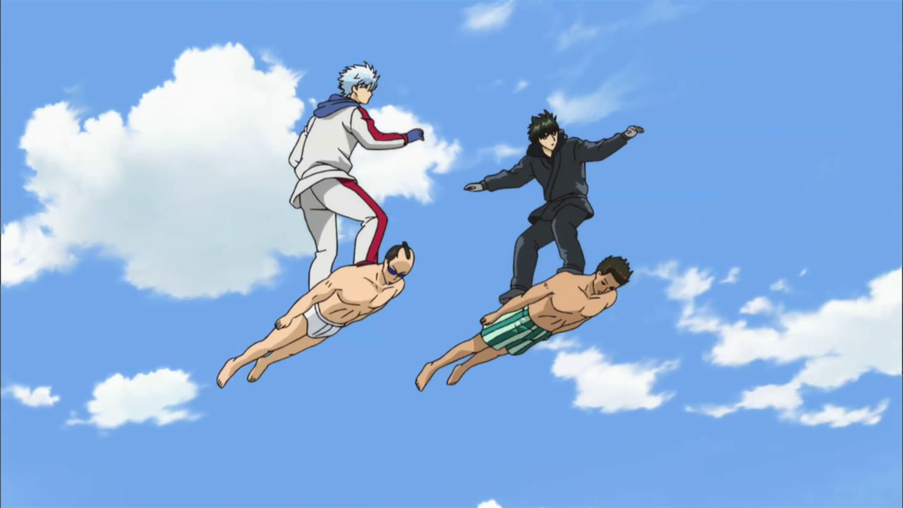 Gintama is finally getting a pure action game screenshot