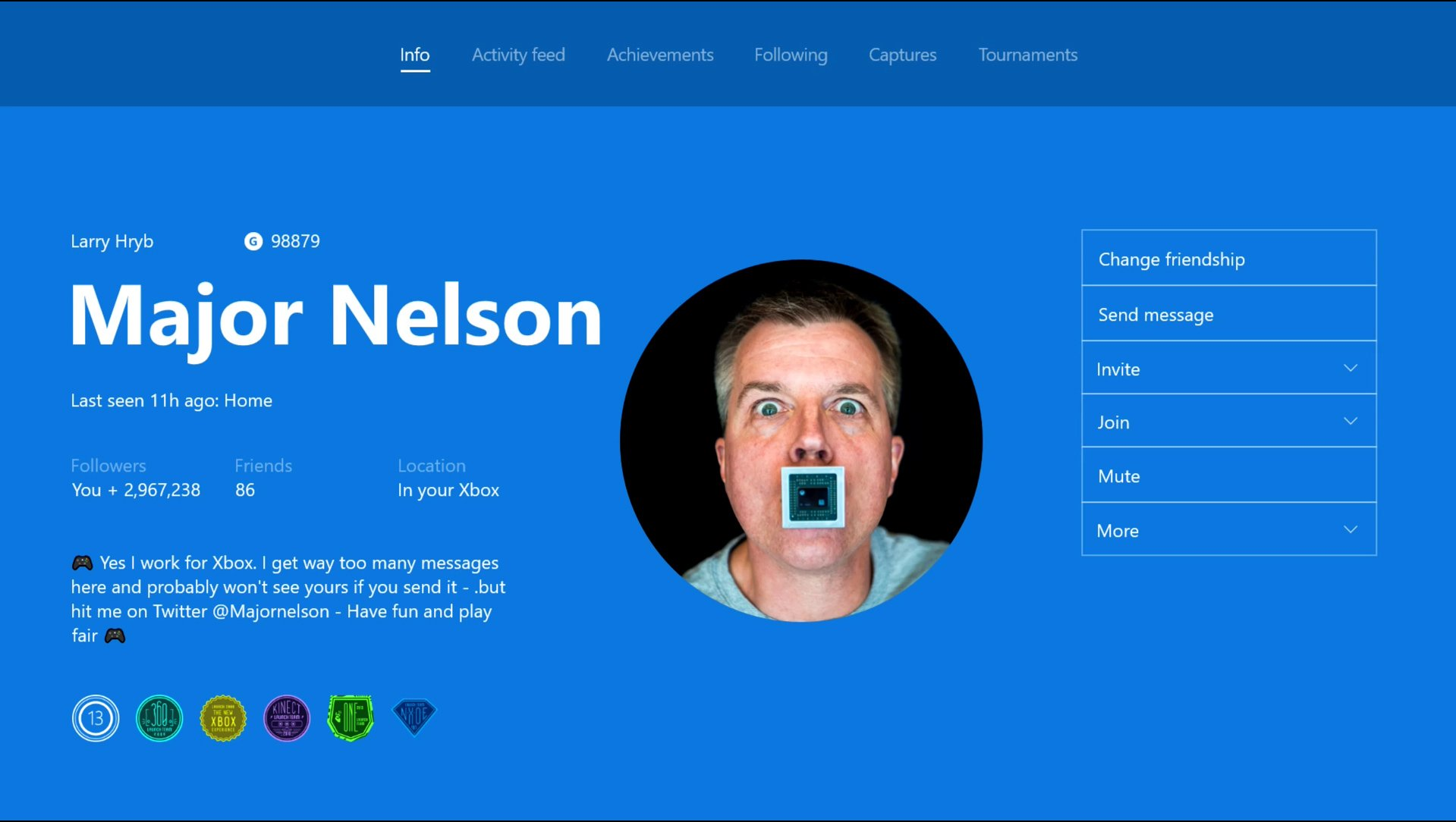 Xbox will now let you upload custom Gamerpics because it seemed like