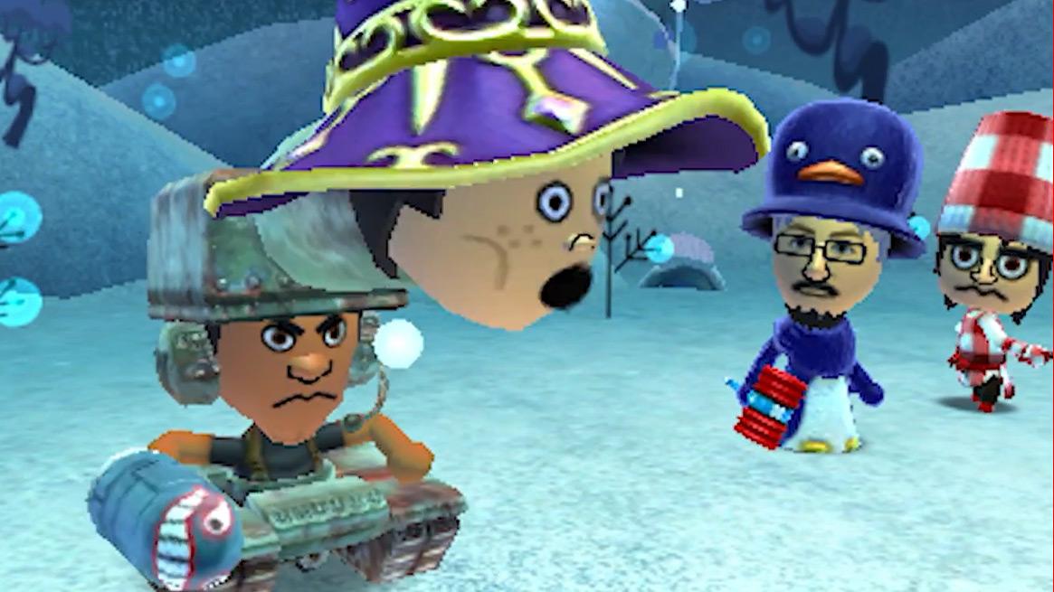 Miitopia is very much Tomodachi Life: The RPG screenshot