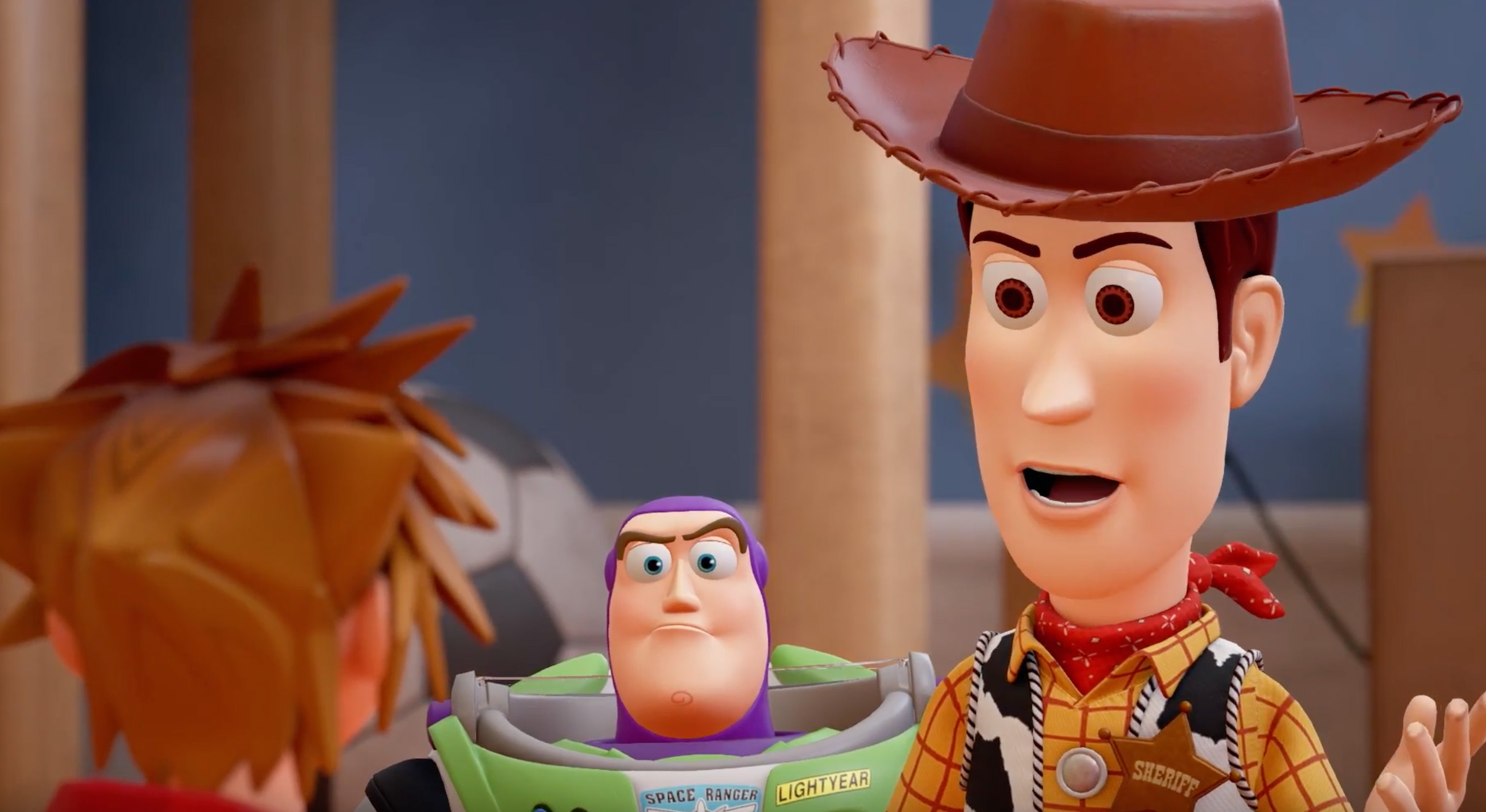 Sora will become Andy's plaything in Kingdom Hearts III screenshot