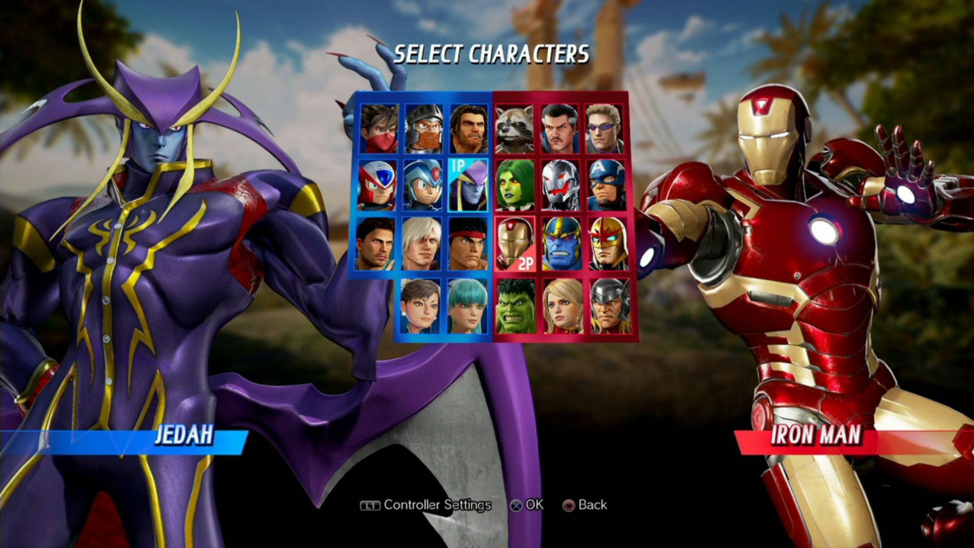 Darkstalkers' Jedah confirmed for Marvel vs. Capcom: Infinite screenshot