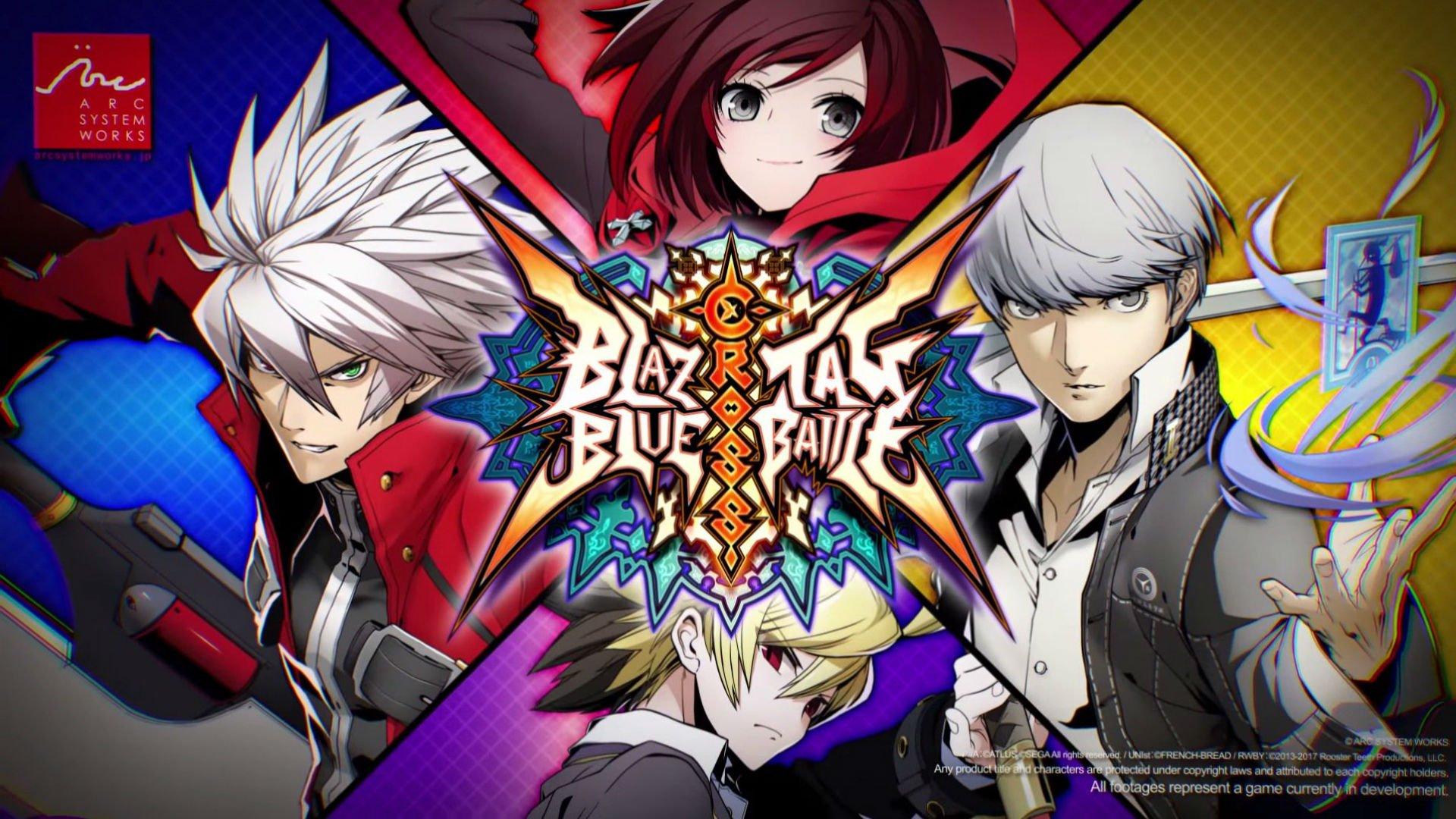 BlazBlue Cross Tag Battle combines BlazBlue, Persona 4 Arena, and RWBY screenshot