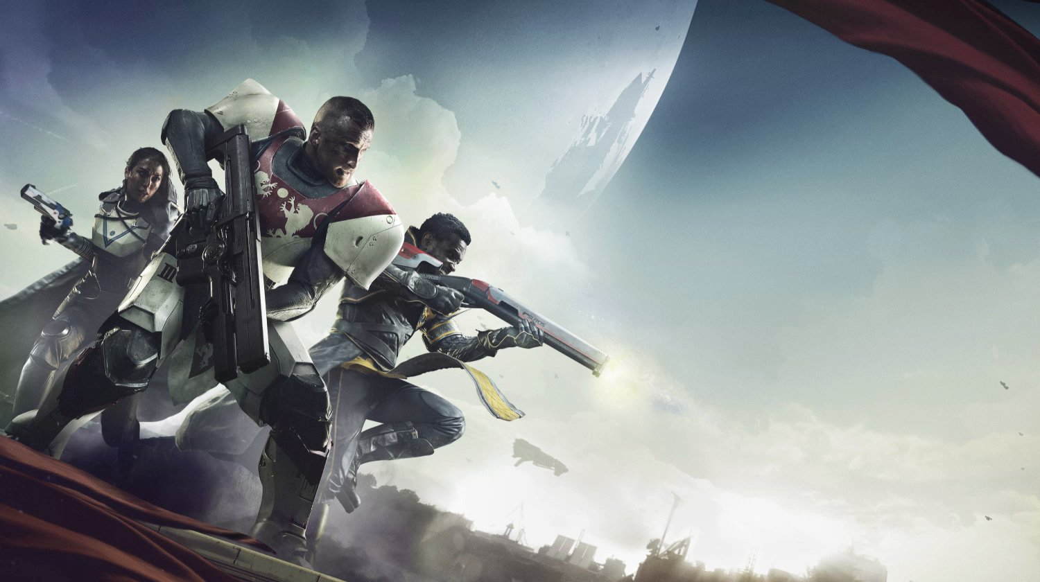 Get a look at the first 30 minutes of Destiny 2 screenshot