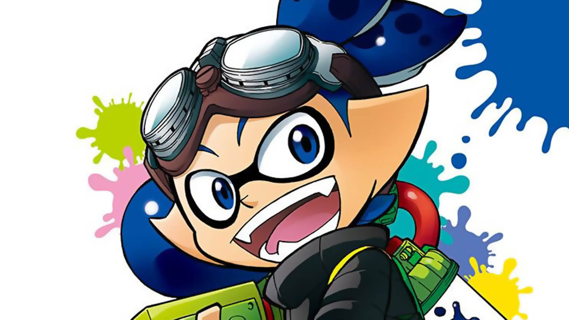 Splatoon is getting an anime adaptation screenshot