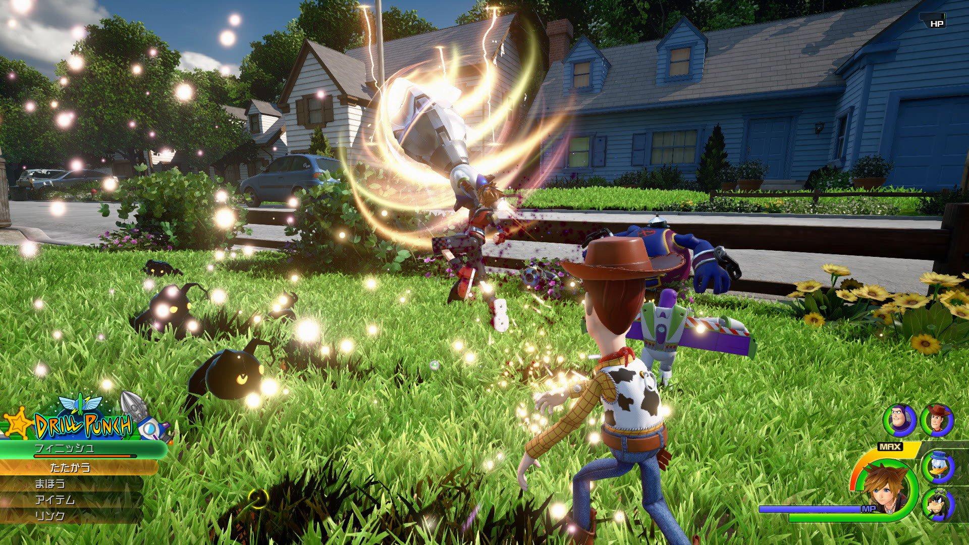 New screens showcase Kingdom Hearts III's beautiful engine