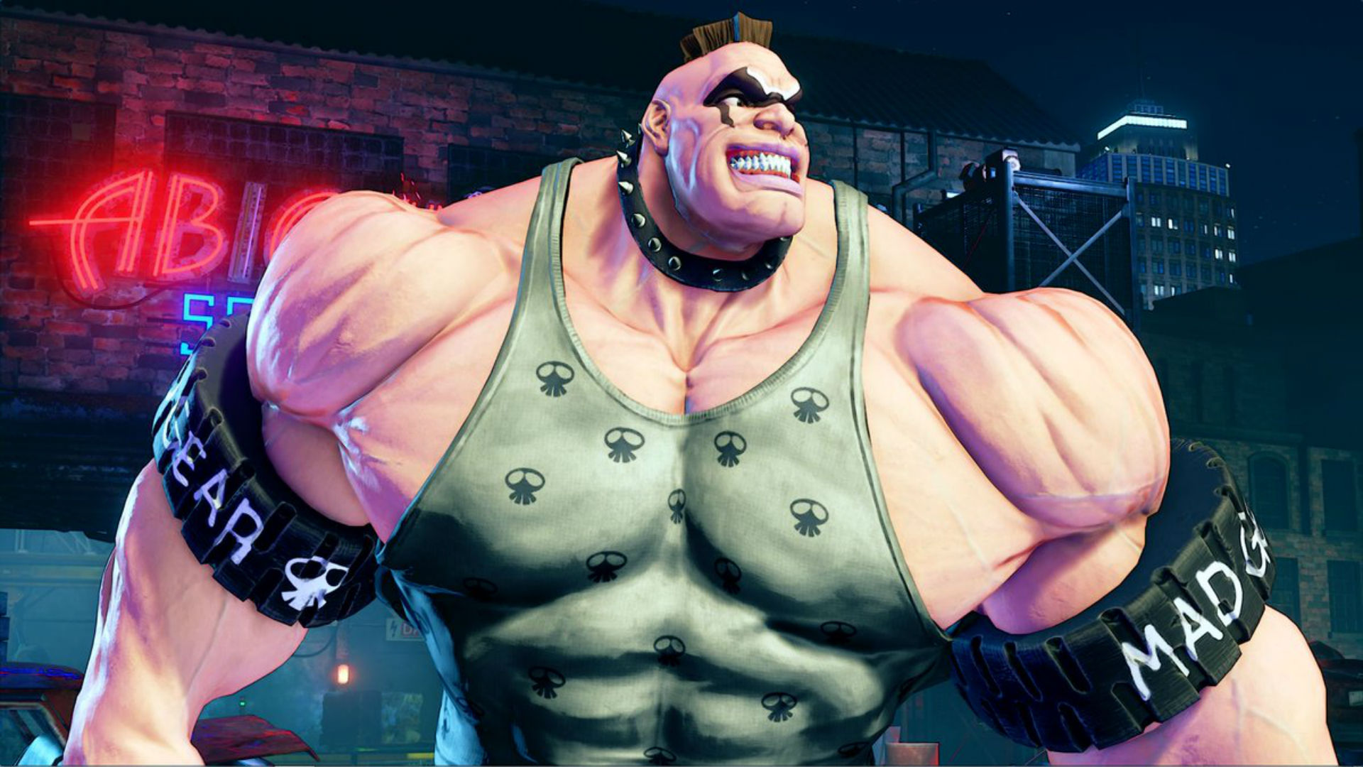 Capcom showed off a beefier version of Street Fighter V's Abigail than there really is screenshot