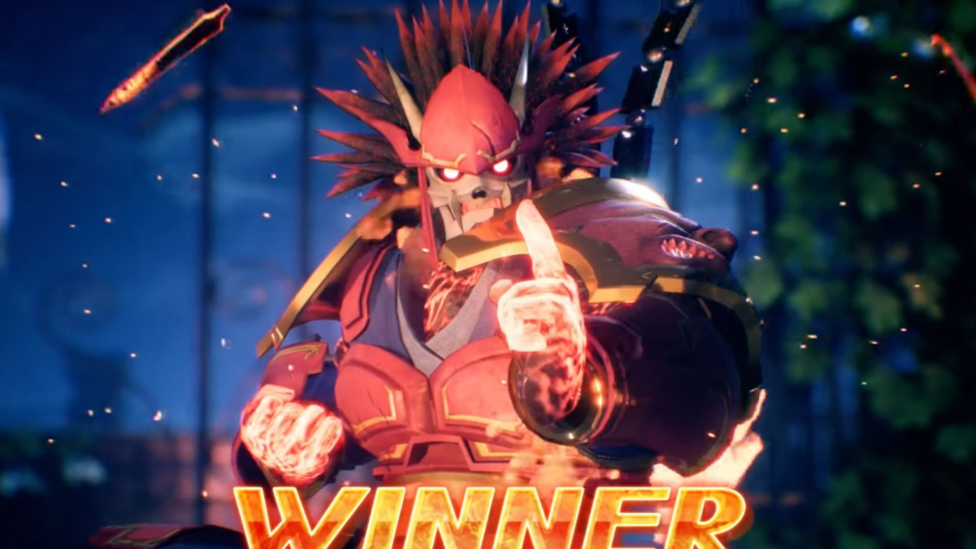 Arika's fighting game with no name looks super fast and fun screenshot