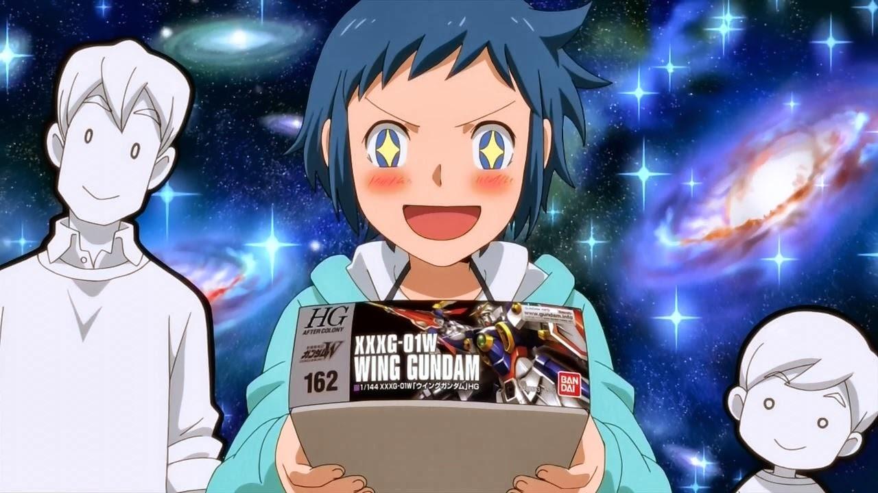 Fuel your Gunpla addiction with more Gundam Build Fighters screenshot