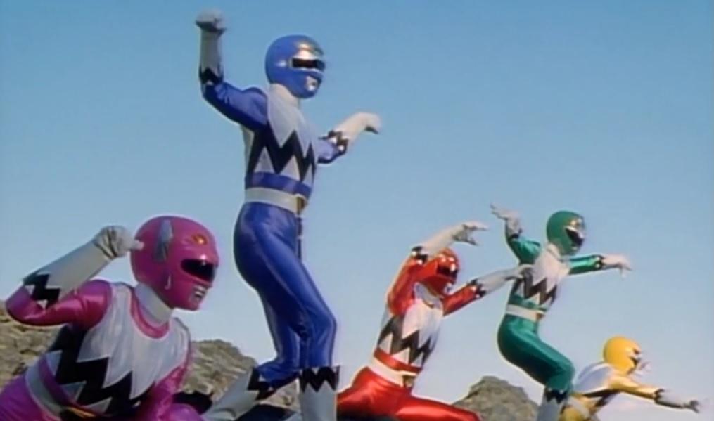 The original Power Rangers Lost Galaxy hits North America next year screenshot