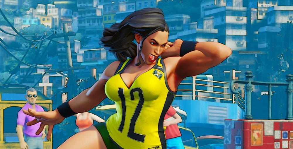 Sports costumes coming to Street Fighter V