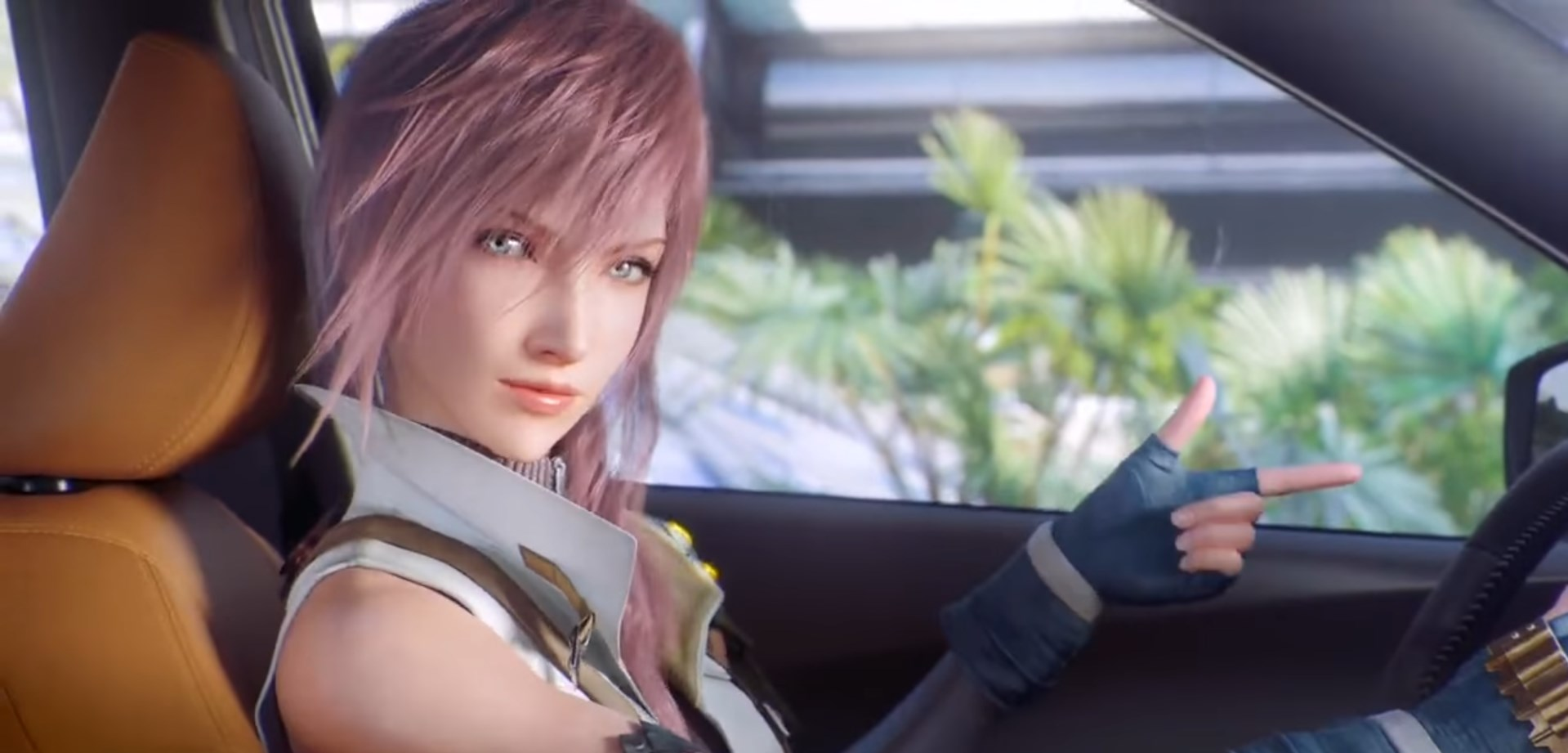 Watch Final Fantasy S Lightning And Snow Awkwardly Advertise