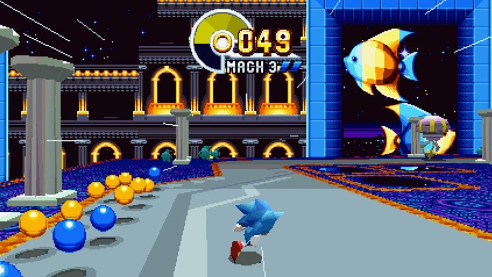 Special stages are back in Sonic Mania screenshot