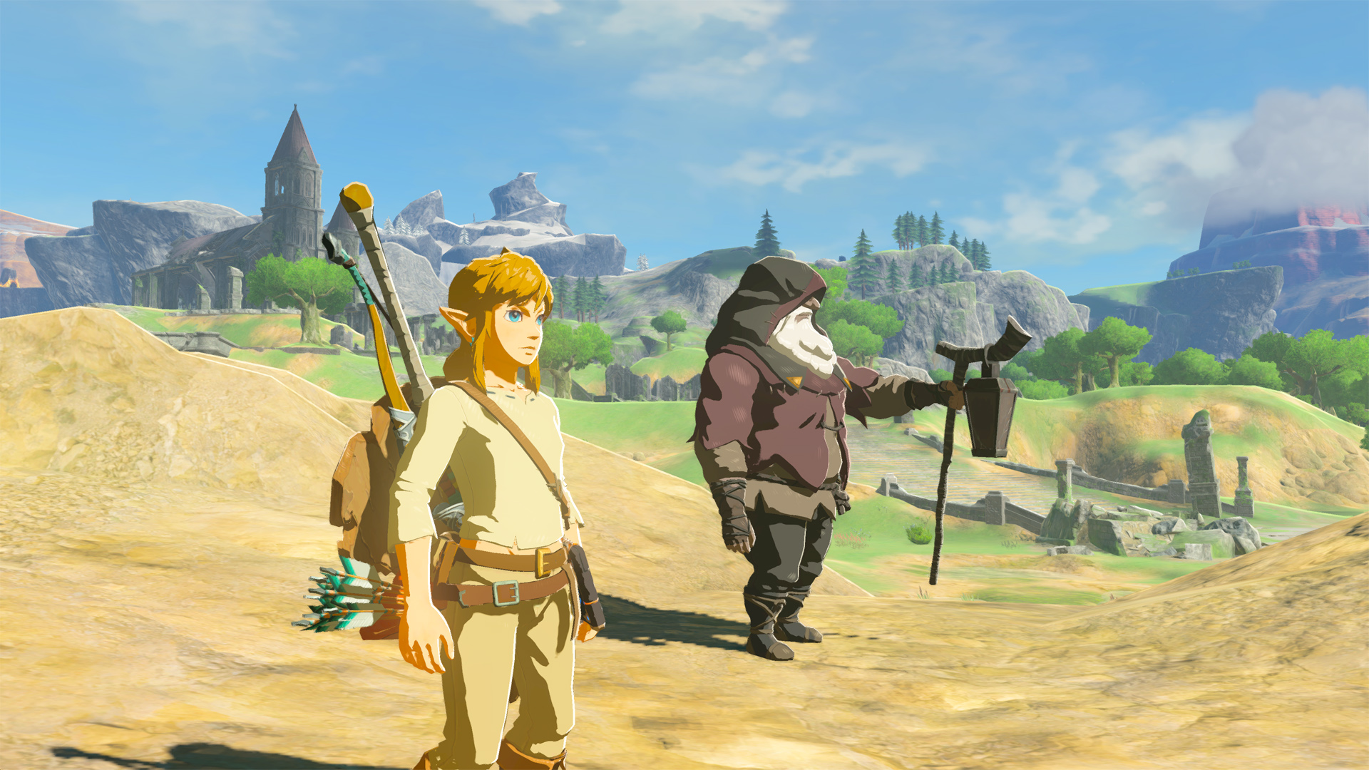 Zelda: Breath of the Wild with co-op sounds like an absolute delight screenshot