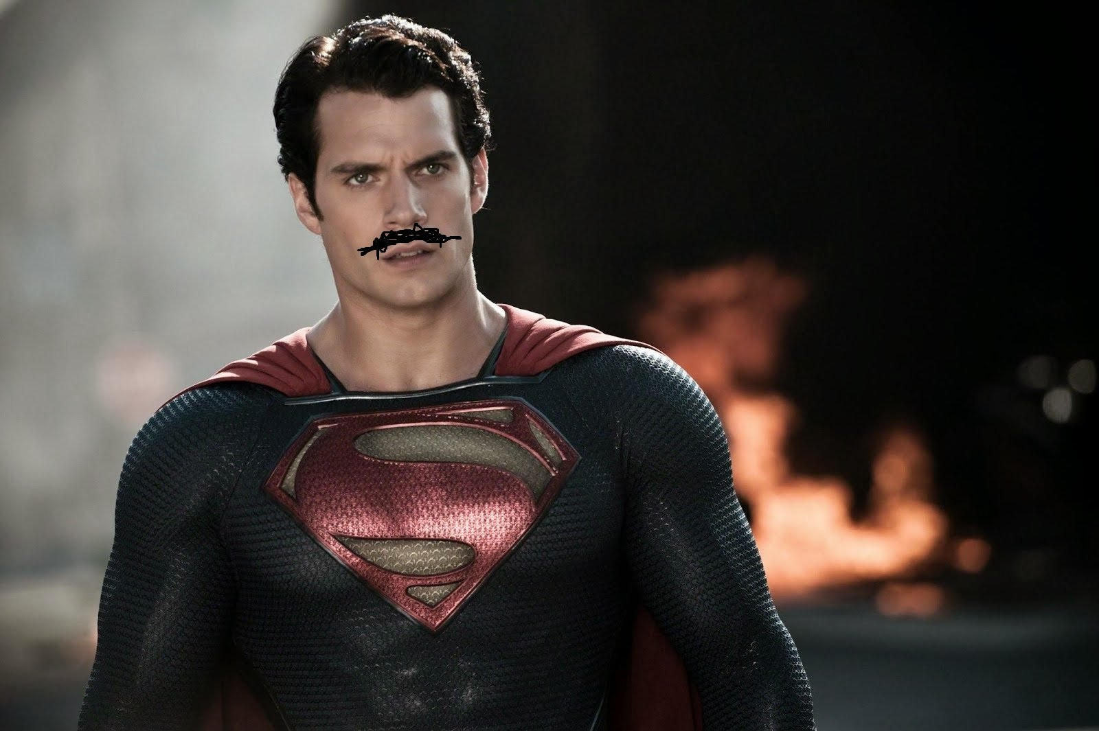 Henry Cavill's mustache will need to be digitally removed for Justice League reshoots screenshot