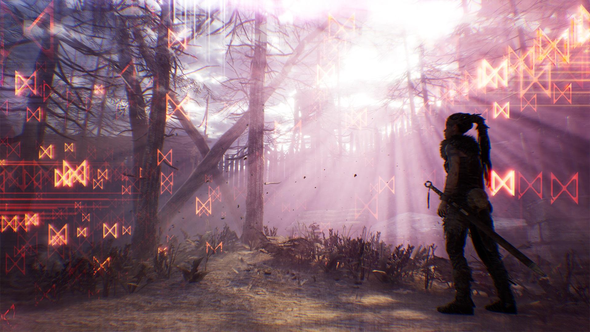 Hellblade has an in-game photo mode screenshot