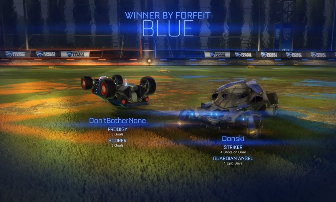 Rocket League brings us together and tears us apart screenshot