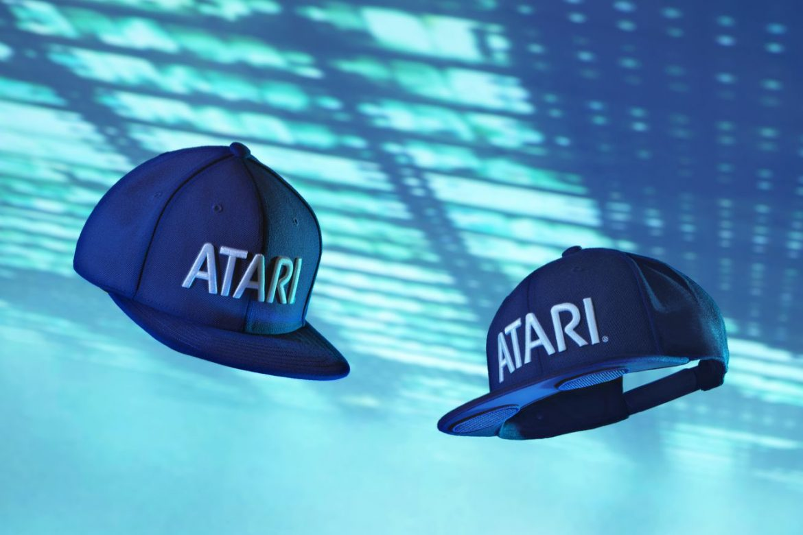Atari made a baseball cap with speakers, and we're giving 10 away screenshot