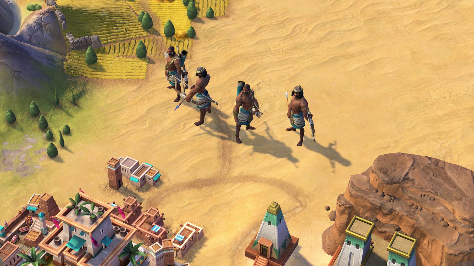 The Nubians are coming to Civilization VI