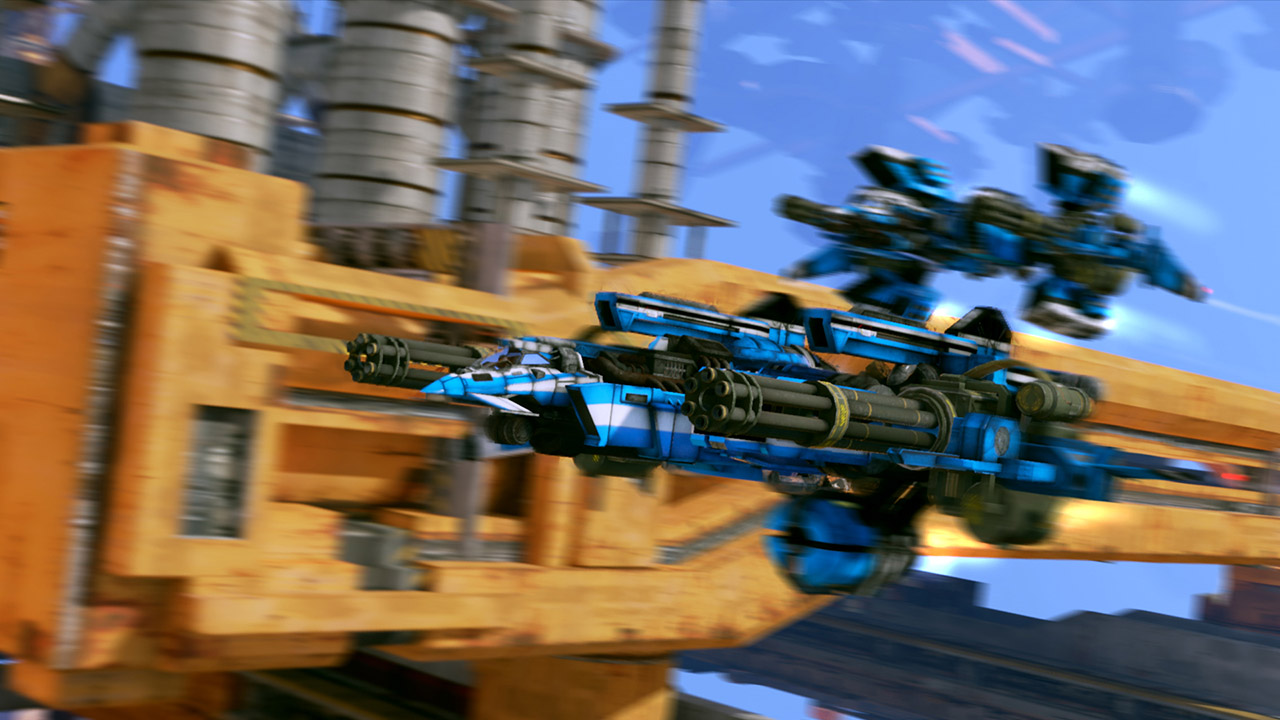 Strike Vector EX is out on PC and BOOM KABLOW ZOOOM screenshot