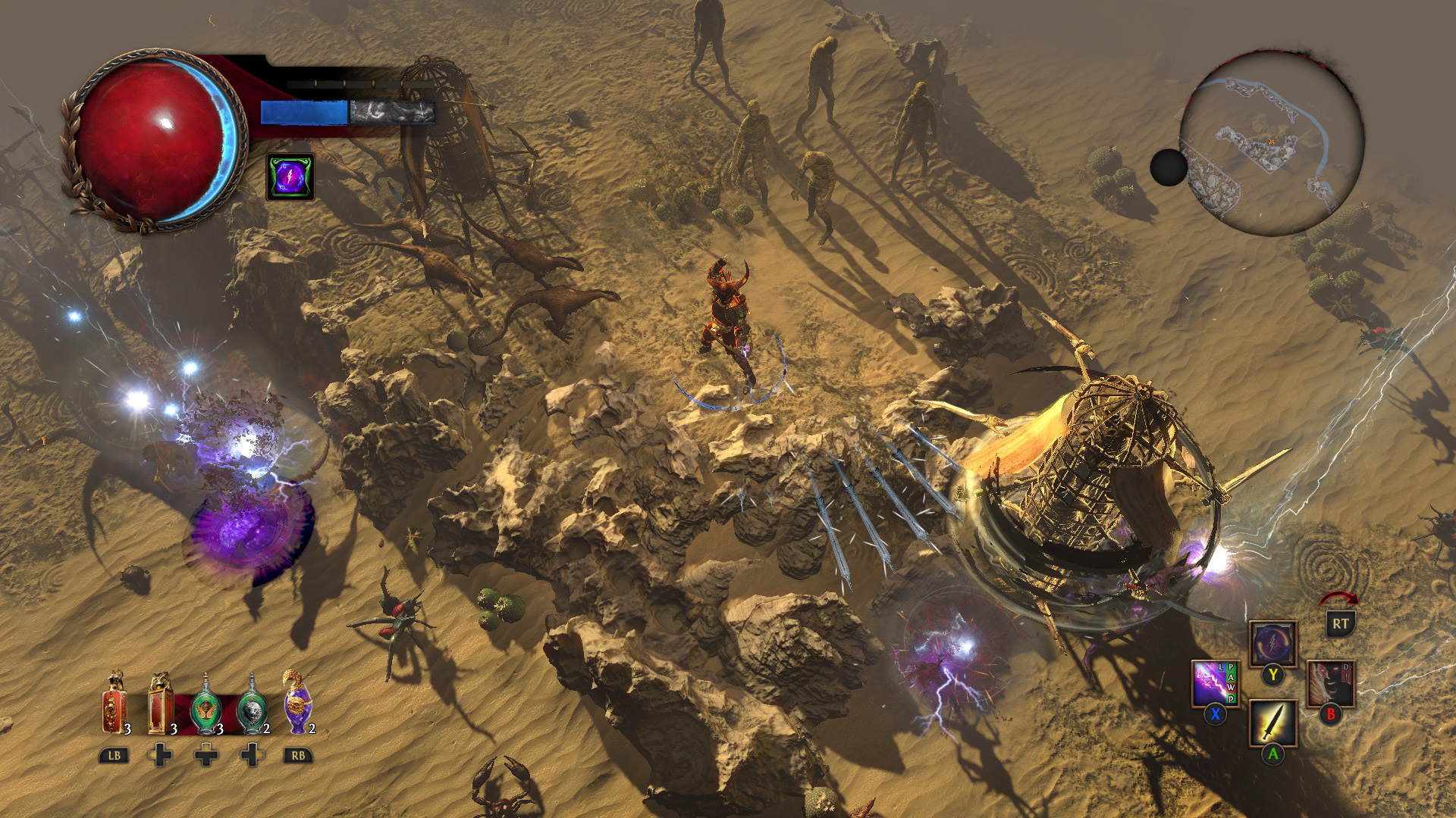 Get your action-RPG fix on Xbox One with the Path of Exile beta screenshot